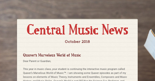 Central Music News