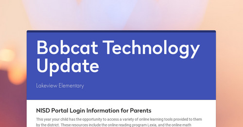 Bobcat Technology Update