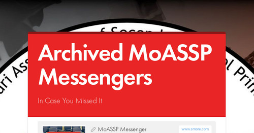Archived MoASSP Messengers