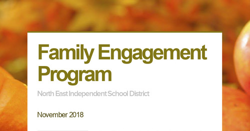 Family Engagement Program
