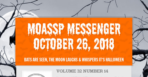 MoASSP Messenger October 26, 2018