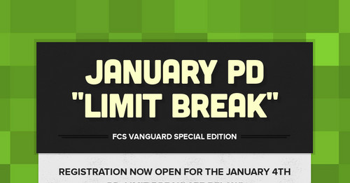 "January PD ""Limit Break"""