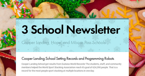 3 School Newsletter