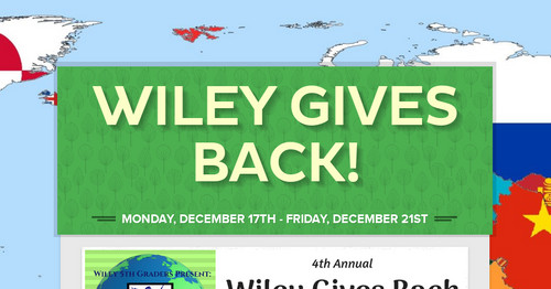 Wiley Gives Back!