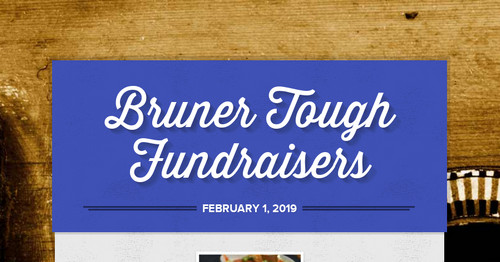 Bruner Tough Fundraisers