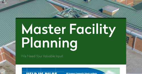 Master Facility Planning