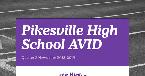 Pikesville High School AVID