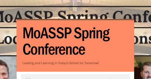 MoASSP Spring Conference