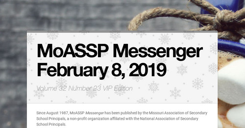 MoASSP Messenger February 8, 2019