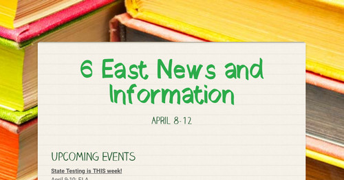 6 East News and Information