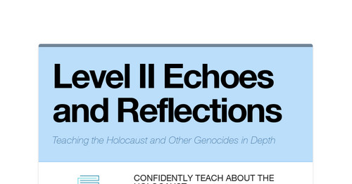 Level II Echoes and Reflections