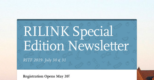 RILINK Special Edition Newsletter