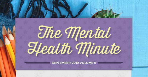 The Mental Health Minute