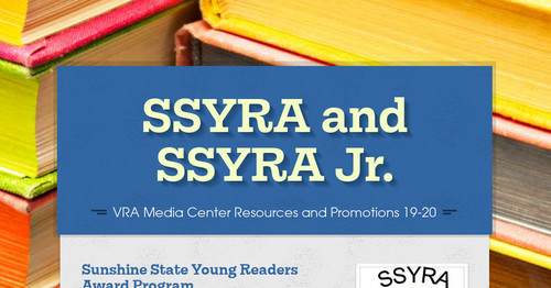 SSYRA and SSYRA Jr.