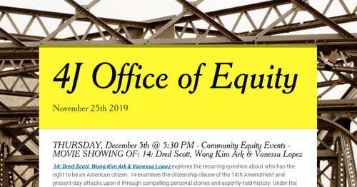 4J Office of Equity