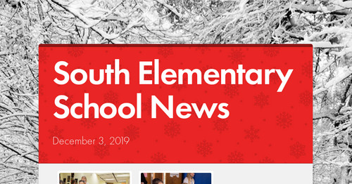 South Elementary School News