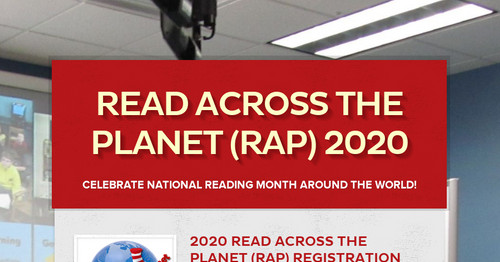 Read Across the Planet (RAP) 2020