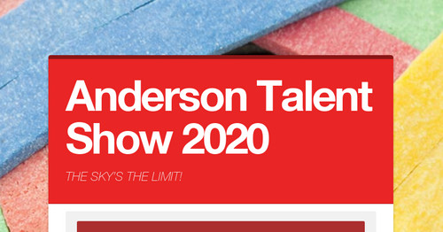 Anderson Talent Show 2020