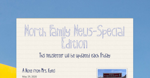 North Family News-Special Edition