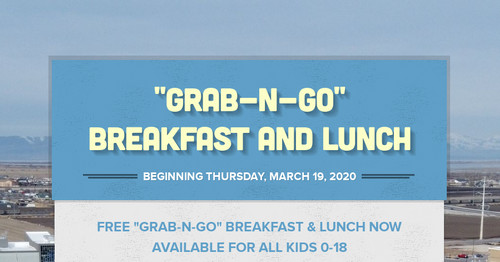 """Grab-n-Go"" Breakfast and Lunch"