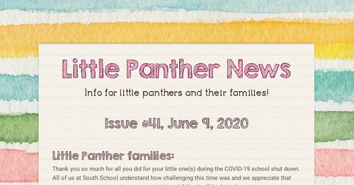 Little Panther News