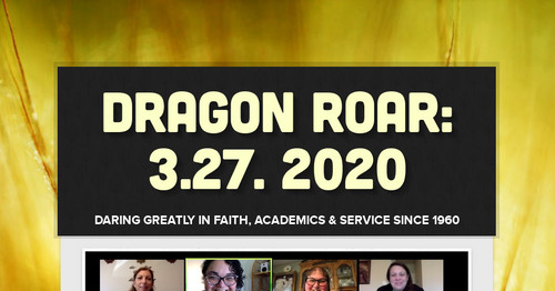 Dragon Roar: 3.27. 2020