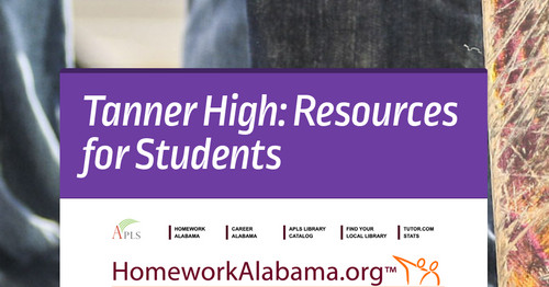 Tanner High: Resources for Students