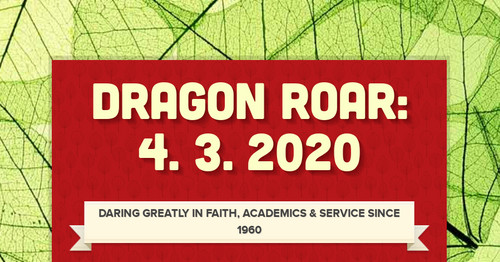 Dragon Roar: 4. 3. 2020