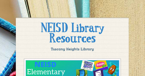 NEISD Library Resources