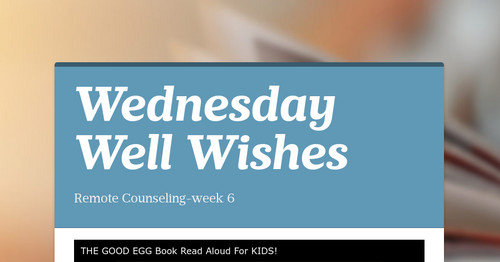 Wednesday Well Wishes