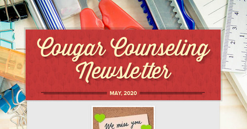 Cougar Counseling Newsletter