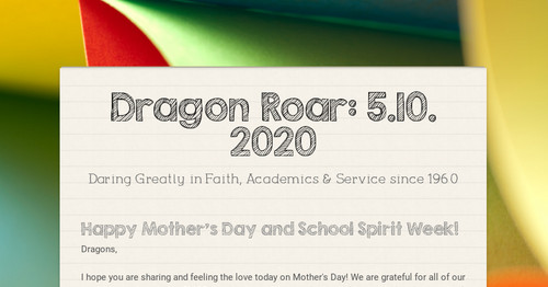 Dragon Roar: 5.10. 2020