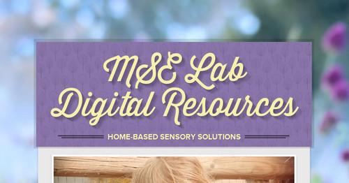 MSE Lab Digital Resources