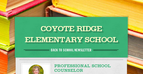 COYOTE RIDGE ELEMENTARY SCHOOL