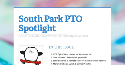 South Park PTO Spotlight