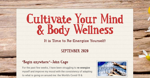 Cultivate Your Mind & Body Wellness