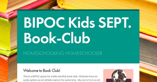 BIPOC Kids Sept Book-Club