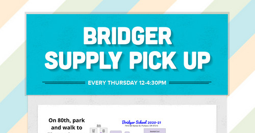 Bridger Supply Pick UP