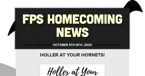 FPS Homecoming News