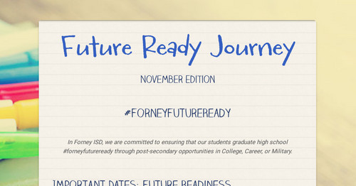 Future Ready Journey