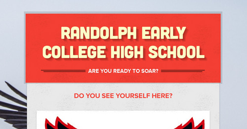 Randolph Early College High School