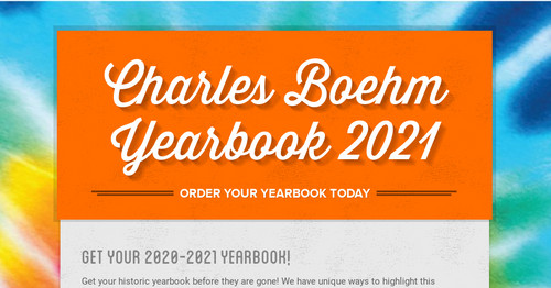 Charles Boehm Yearbook 2021