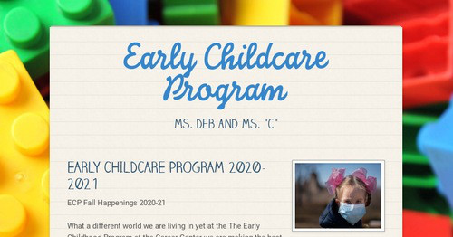 Early Childcare Program