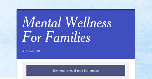 Mental Wellness For Families