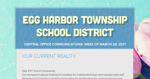 EGG HARBOR TOWNSHIP SCHOOL DISTRICT