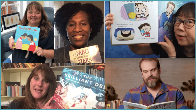 The Big List of Children's Authors Doing Online Read Alouds & Activities