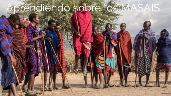 Aprendemos sobre la tribu MASAI by imunozbiur on Genial.ly