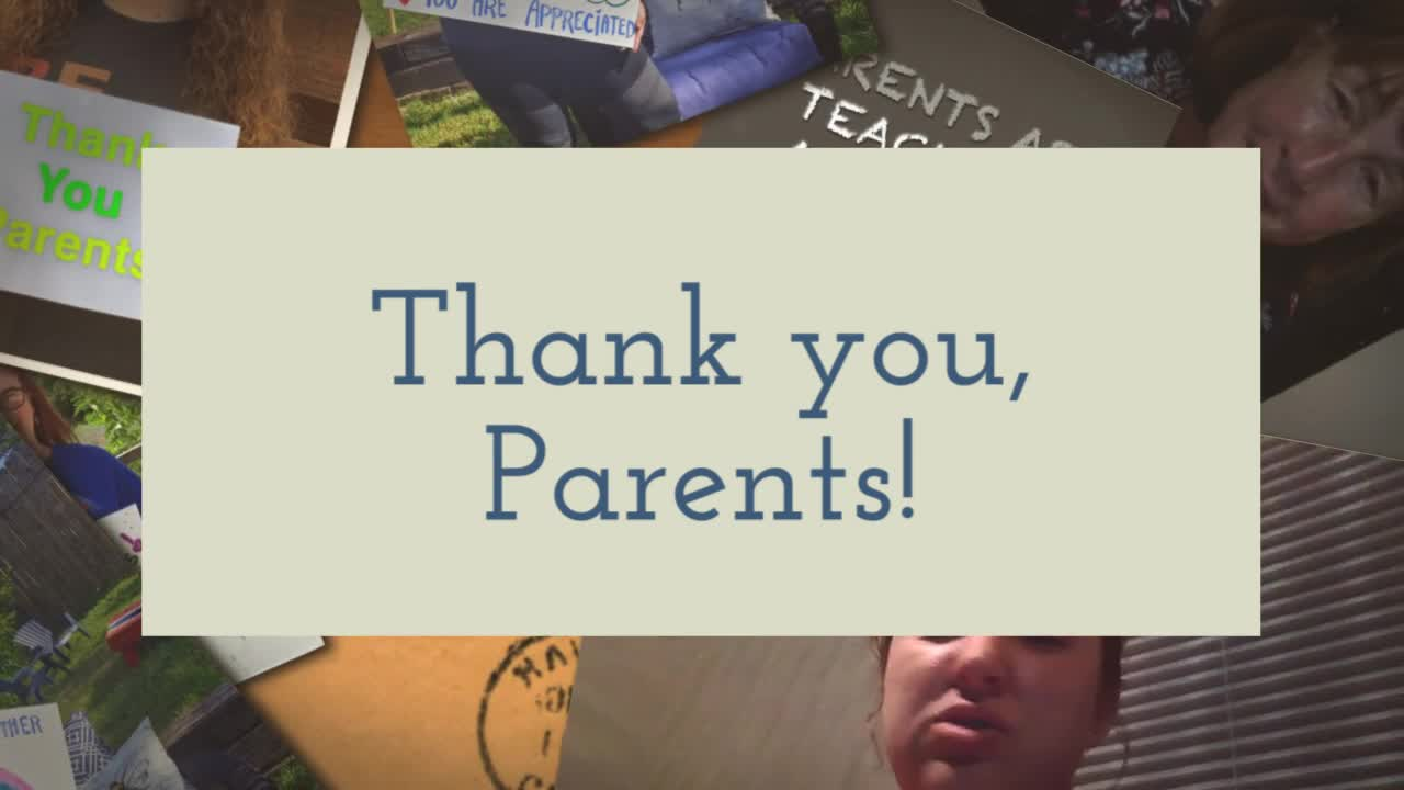 A wonderful  video gift for Parents as Teachers Appreciation - Watch it now!