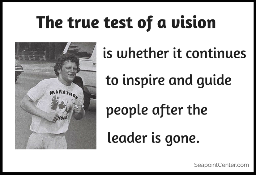 The True Test of a Vision - Jesse Lyn Stoner