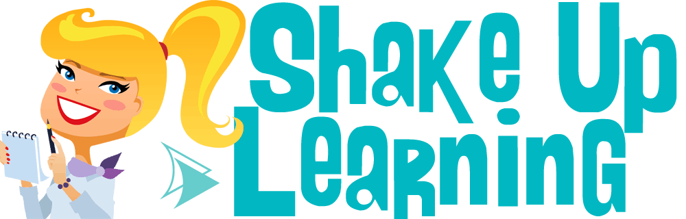 Shake Up Learning Website and Blog